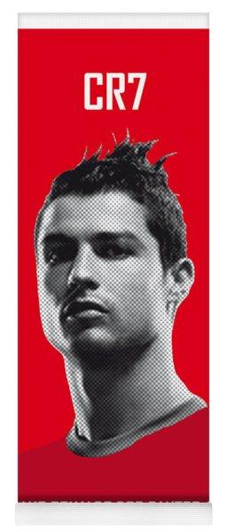 My Ronaldo Soccer Legend Poster Yoga Mat
