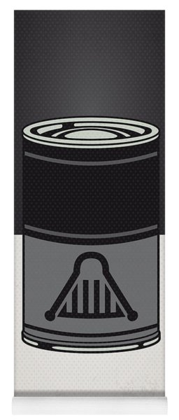 My Star Warhols Darth Vader Minimal Can Poster Yoga Mat