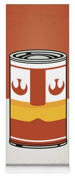 My Star Warhols Luke Skywalker Minimal Can Poster Yoga Mat