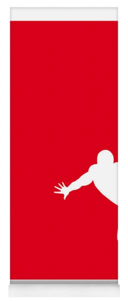 My Superhero 04 Spider Red Minimal Poster Yoga Mat