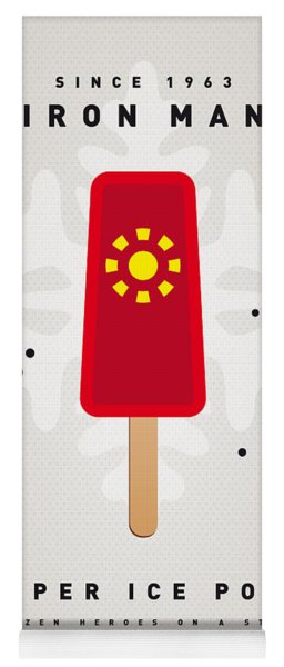 My Superhero Ice Pop - Iron Man Yoga Mat