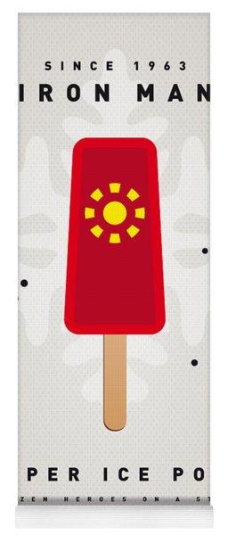 My Superhero Ice Pop - Iron Man Yoga Mat