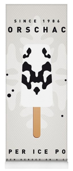 My Superhero Ice Pop - Rorschach Yoga Mat