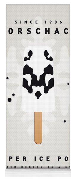 My Superhero Ice Pop - Rorschach Yoga Mat