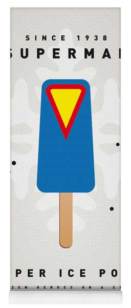 My Superhero Ice Pop - Superman Yoga Mat