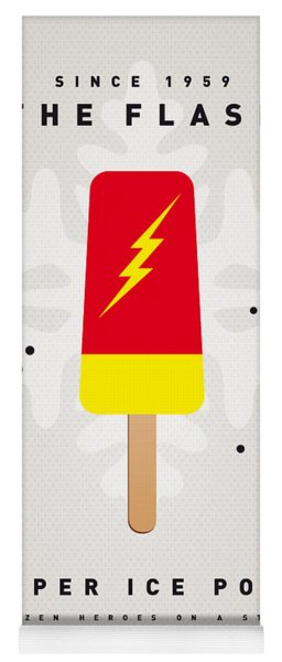 My Superhero Ice Pop - The Flash Yoga Mat