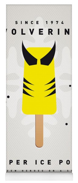 My Superhero Ice Pop - Wolverine Yoga Mat