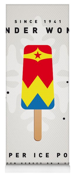My Superhero Ice Pop - Wonder Woman Yoga Mat