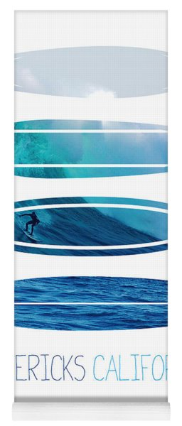 My Surfspots Poster-2-mavericks-california Yoga Mat