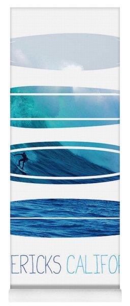 My Surfspots Poster-2-mavericks-california Yoga Mat