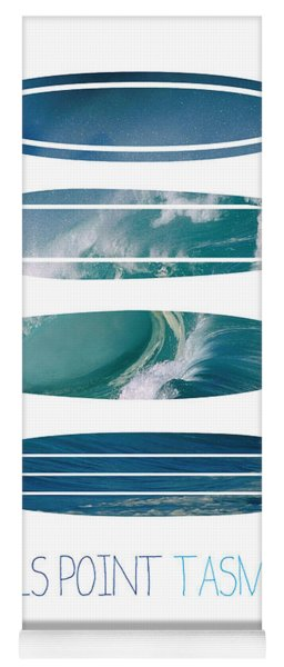 My Surfspots Poster-5-devils-point-tasmania Yoga Mat