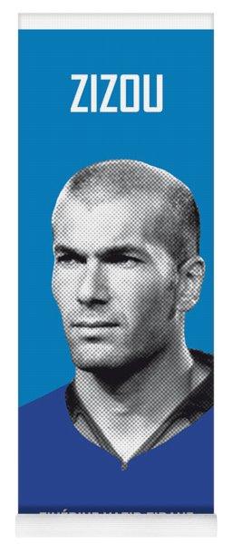 My Zidane Soccer Legend Poster Yoga Mat