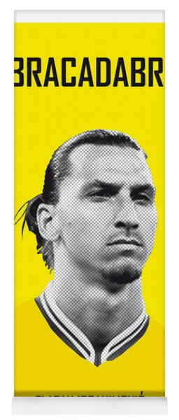My Zlatan Soccer Legend Poster Yoga Mat
