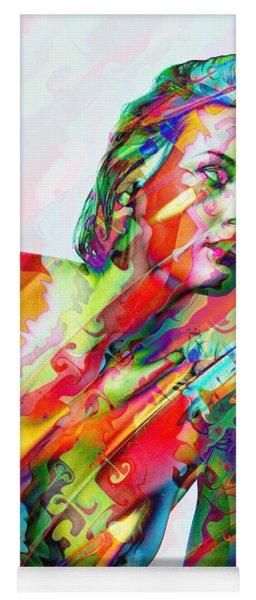 Myriad Of Colors Yoga Mat
