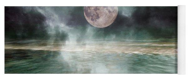 Mystical Beach Moon Yoga Mat