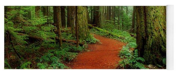 Mystical Trail Yoga Mat