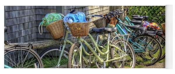 Nantucket Bikes Yoga Mat