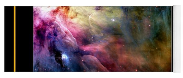 Nasa Ll Ori And The Orion Nebula Stars Of Heaven Bless The Lord Yoga Mat