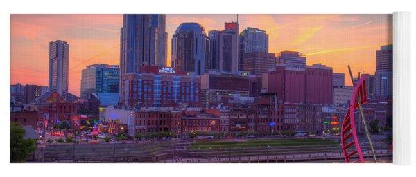Nashville Sunset Yoga Mat