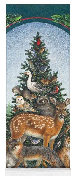 Nature's Christmas Tree Yoga Mat
