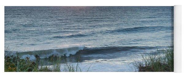Nauset Light Beach Sunrise Square Yoga Mat