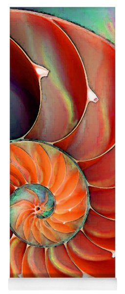 Nautilus Shell - Nature's Perfection Yoga Mat