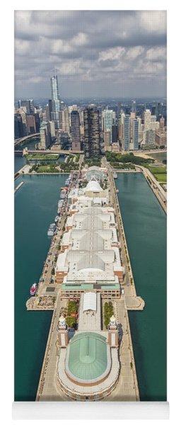 Navy Pier Chicago Aerial Yoga Mat