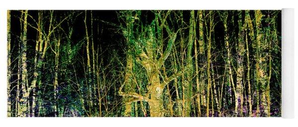 Negative Forest Yoga Mat