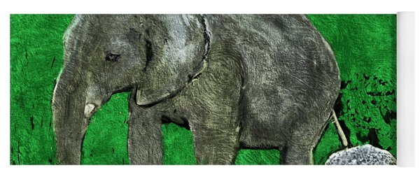 Nelly The Elephant Yoga Mat