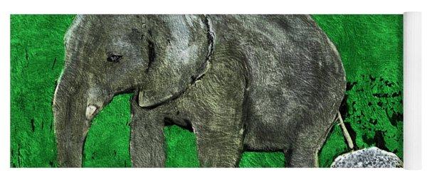 Nelly The Elephant Yoga Mat