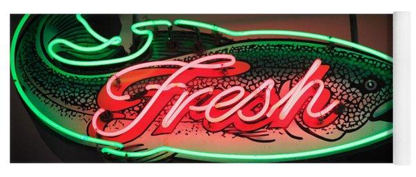 Neon Fish Yoga Mat