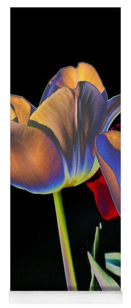 Neon Tulips Yoga Mat