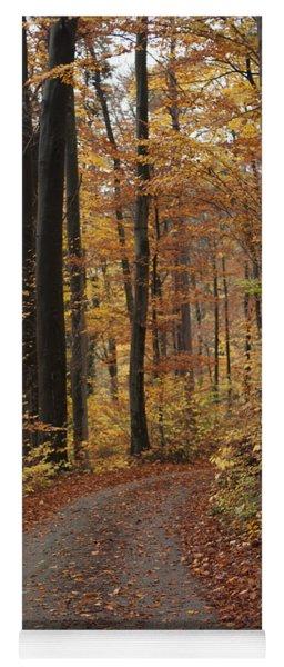 New Autumn Trails Yoga Mat