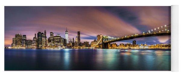 New Dawn Over New York Yoga Mat
