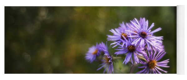 New England Asters Yoga Mat