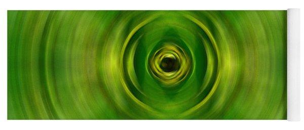 New Growth - Green Art By Sharon Cummings Yoga Mat