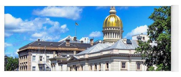 New Jersey Capitol Yoga Mat