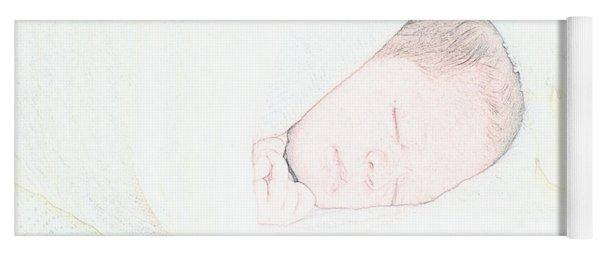 Baby Face Yoga Mat