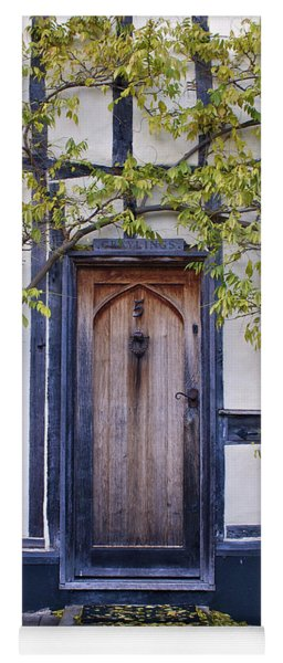 New Photographic Art Print For Sale Doorway 2 In Medieval Lavenham Yoga Mat