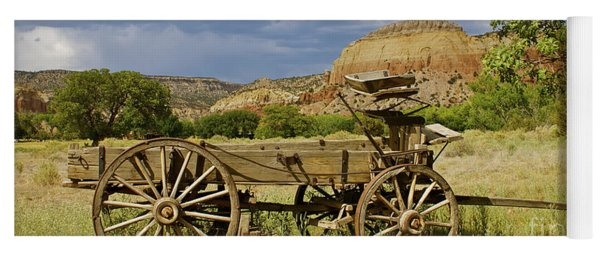 New Photographic Art Print For Sale Ghost Ranch New Mexico 13 Yoga Mat