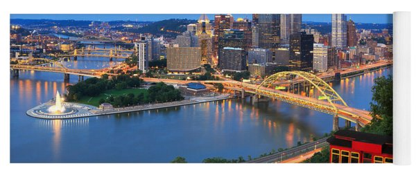 Pittsburgh Summer  Yoga Mat