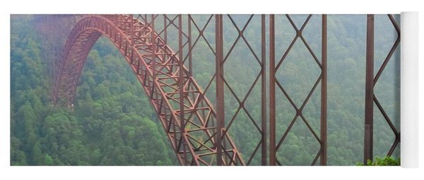 New River Gorge Bridge   Yoga Mat