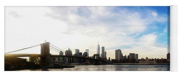 New York City Bridges Yoga Mat