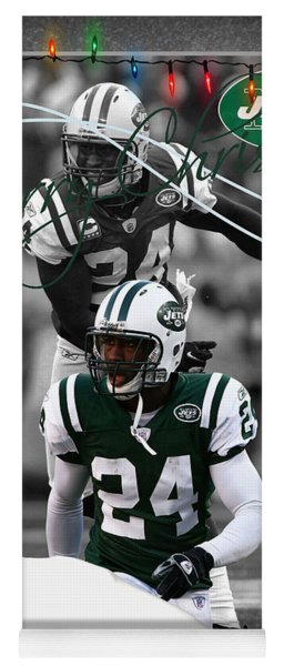 New York Jets Christmas Card Yoga Mat