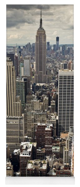 New York Midtown Skyscrapers Yoga Mat