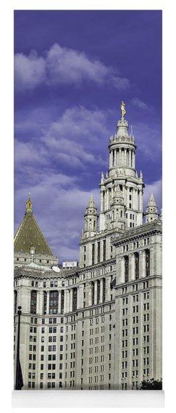 New York Municipal Building Yoga Mat