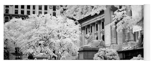 New York Public Library Ir Yoga Mat