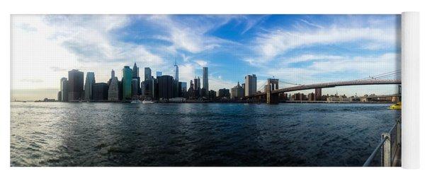 New York Skyline - Color Yoga Mat