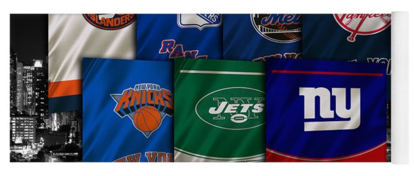 New York Sports Teams Yoga Mat