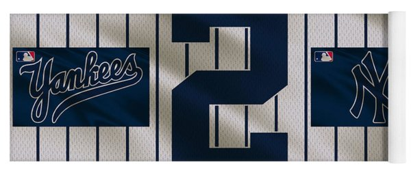 New York Yankees Derek Jeter Yoga Mat